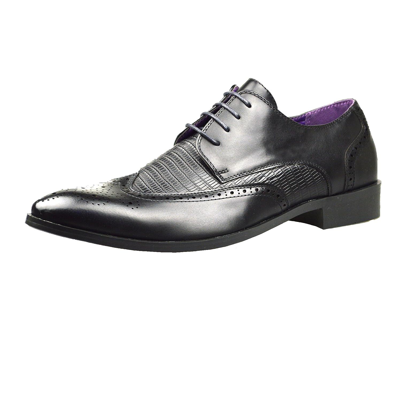 TALLA 41 EU. ClassyDude - Zapato con Cordones Hombre