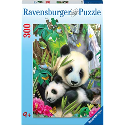 Ravensburger Lovely Panda Jigsaw Puzzle (300 Piece): Toys & Games