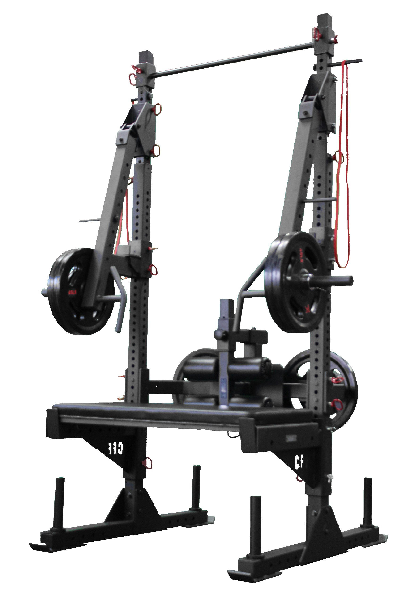 CFF Pro Series Half Rack - ''The Beast'' - Great for Cross Training, MMA, Boxing, Personal Training