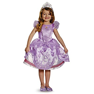 Disguise Inc - Disney Sofia the First Deluxe Toddler/Child Costume: Toys & Games