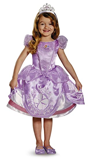 7d66498c9 Amazon.com: Disguise Sofia The First Deluxe Costume for Kids: Toys ...