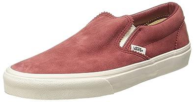Vans Unisex Classic Slip-on (Pinked Suede) Skate Shoe (4) 3ee21708f