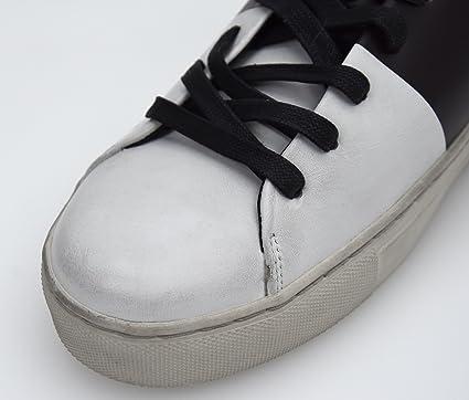 Crime Herren Turnschuhe Freizeitschuhe Sneaker Leder Art
