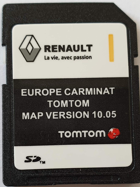 Tarjeta SD GPS Europe 2018-10.05 - Renault Tomtom Carminat