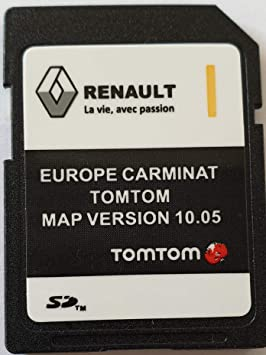 Tarjeta SD GPS Europe 2018-10.05 - Renault Tomtom Carminat: Amazon.es: Electrónica