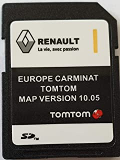 Tomtom Sd Karte Installieren.Sd Karte Europa 2018 10 05 Renault Tomtom Live Amazon De Navigation