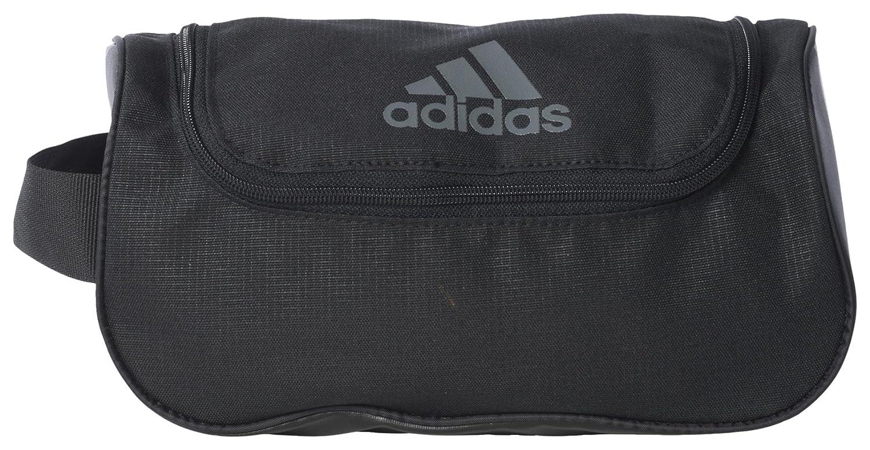 7d6a56b36dfe Adidas 3-Stripes Performance Washkit Bag - Black Black Vista Grey ...