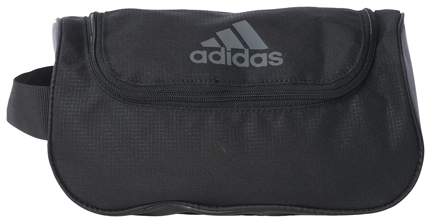fd6d5f85d3f6 Adidas 3 Stripe Performance Wash Bag - Black Grey  Amazon.ca  Sports    Outdoors