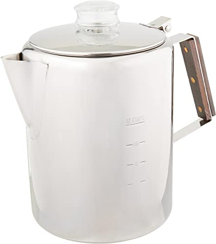 Rapid Brew Stainless Steel Coffee Percolator