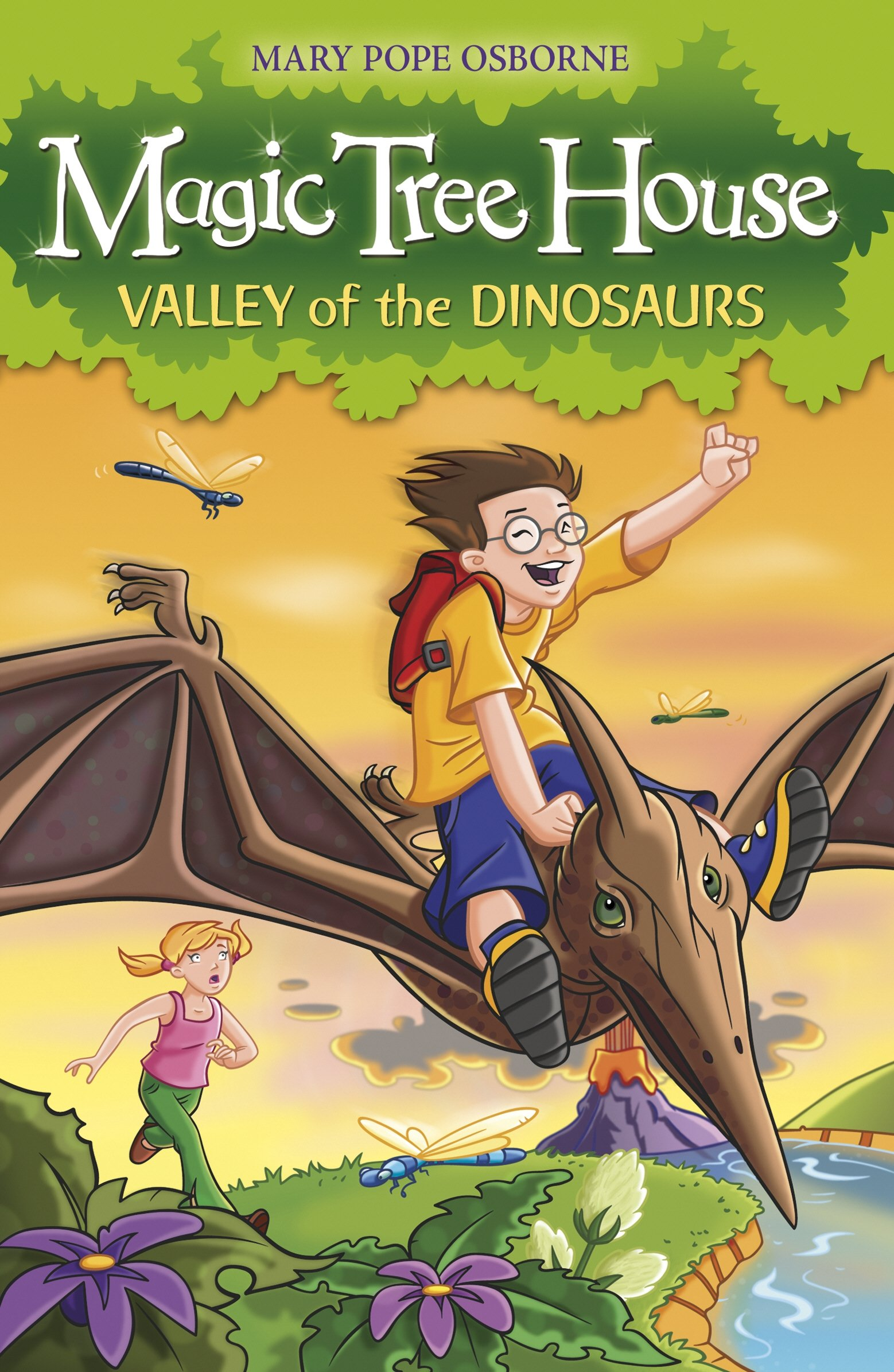 The Magic Tree House 1: Valley of the Dinosaurs PDF Text fb2 book