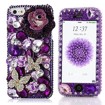 Amazon.com: Spritech (TM) Moda Bling teléfono celular Caso ...
