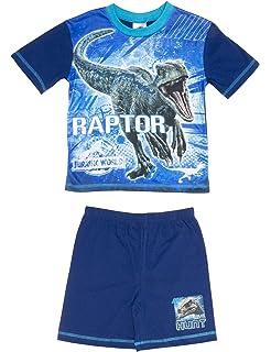 Cartoon Character Products Jurassic World Pyjamas Boys Shortie JW2 Fallen Kingdom Pyjama Set - 4-