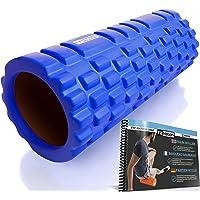FIT NATION Fasciarol - Foam Roller Set voor zelfmassage met oefenboek - Sport massagerol voor beginners, professionals…
