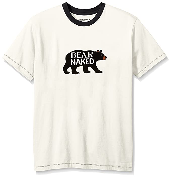 Hatley Short Sleeve Pyjama tee, Camiseta de Pijama para Hombre: Amazon.es: Ropa y accesorios