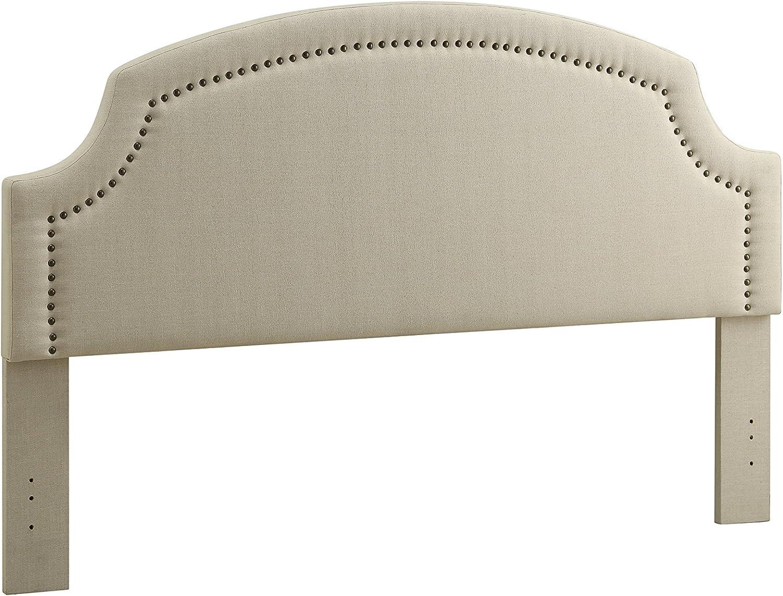 Linon Natural Full/Queen Regency Headboard