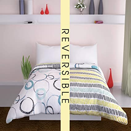 Amazon.com: Curl Up All Season Reversible Microfiber Comforter/Quilt ...