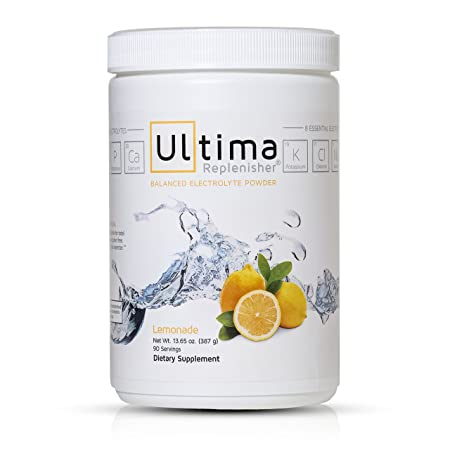 Ultima Replenisher Lemonade 90 – Servings , 13.65 ounces Jars
