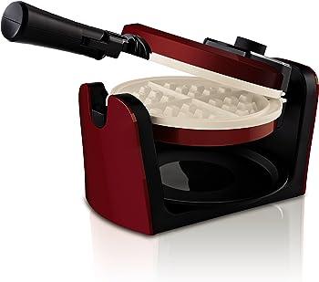 Oster CKSTWFBF10MR-ECO DuraCeramic Flip Waffle Maker
