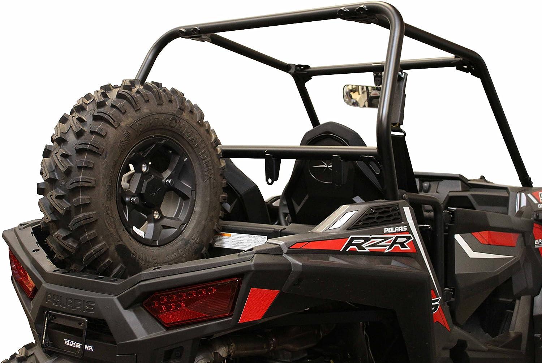 Dragonfire Racing RacePace Black Bed Spare Tire Carrier Mount Polaris RZR 900