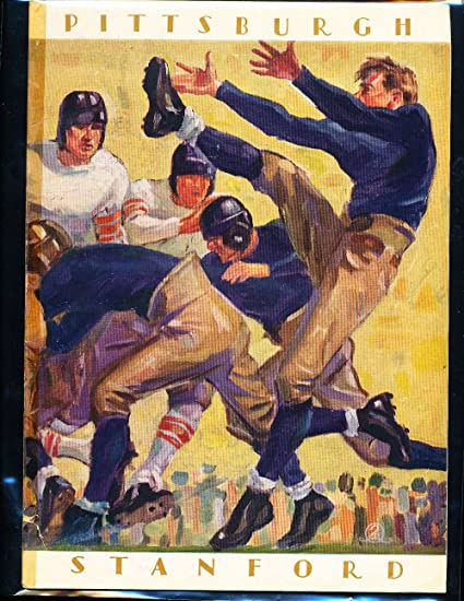 1928 Rose Bowl Football program Stanford vs Pittsburgh at Amazon's ...