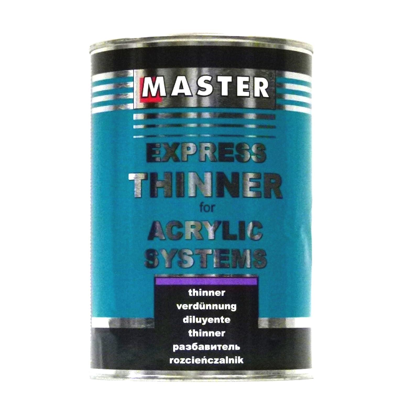 troton Master Express Diluant HS New Formula pour produits de 1L Thinner alimentaires meilleure qualité acrylique 5334