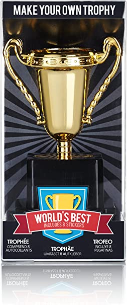 Fun Novely Trophy Cup for Children Fun Trophies Kids Awards