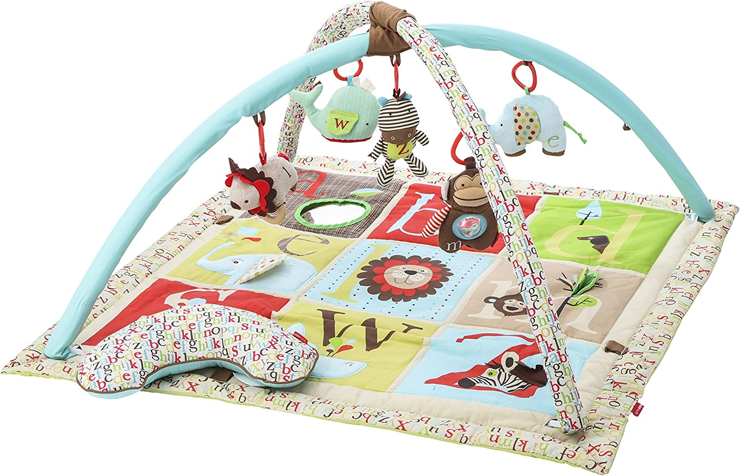 Skip Hop Hug /& Hide Playmat Baby Activity Gym Soft Mat Arch /& Play Gym with Toys