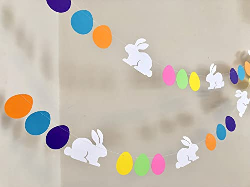 Easter Bunny Easter Toys Easter Pompom Garland Easter Party Supplies Rabbit Baby Shower *ONLY 2 KITS* Easter kit Easter Kids Party