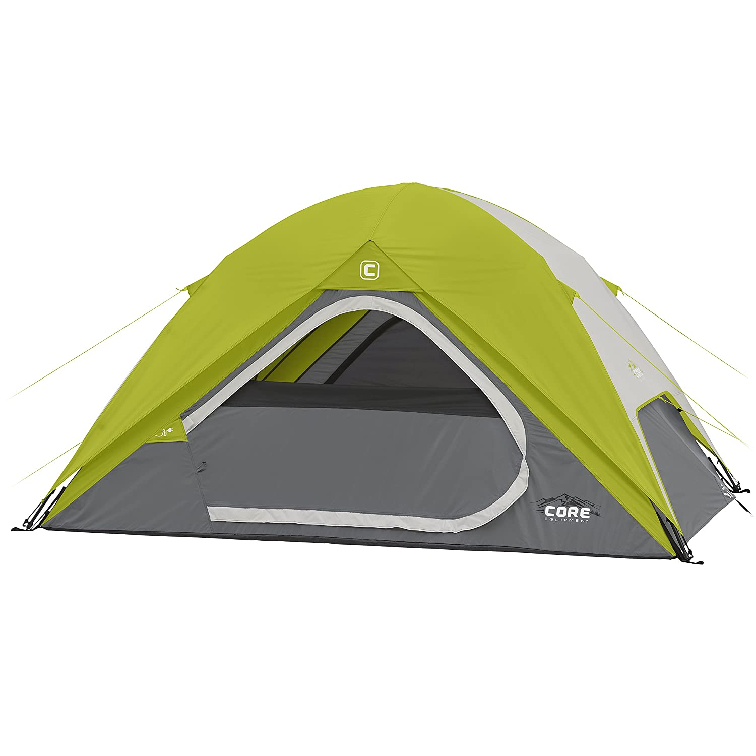 CORE Equipment 4 Person Instant Dome Tent, Instant tents