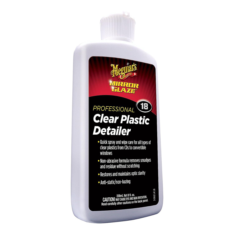 Meguiar's M1708 M17 Mirror Glaze Clear Plastic Cleaner - 8 oz. Meguiar' s