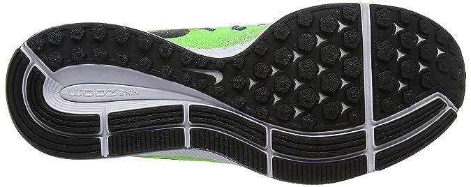 Nike Air Zoom Pegasus 33, Herren Laufschuhe, Grün (Ghost Greenblackpure Platinum), 39 EU