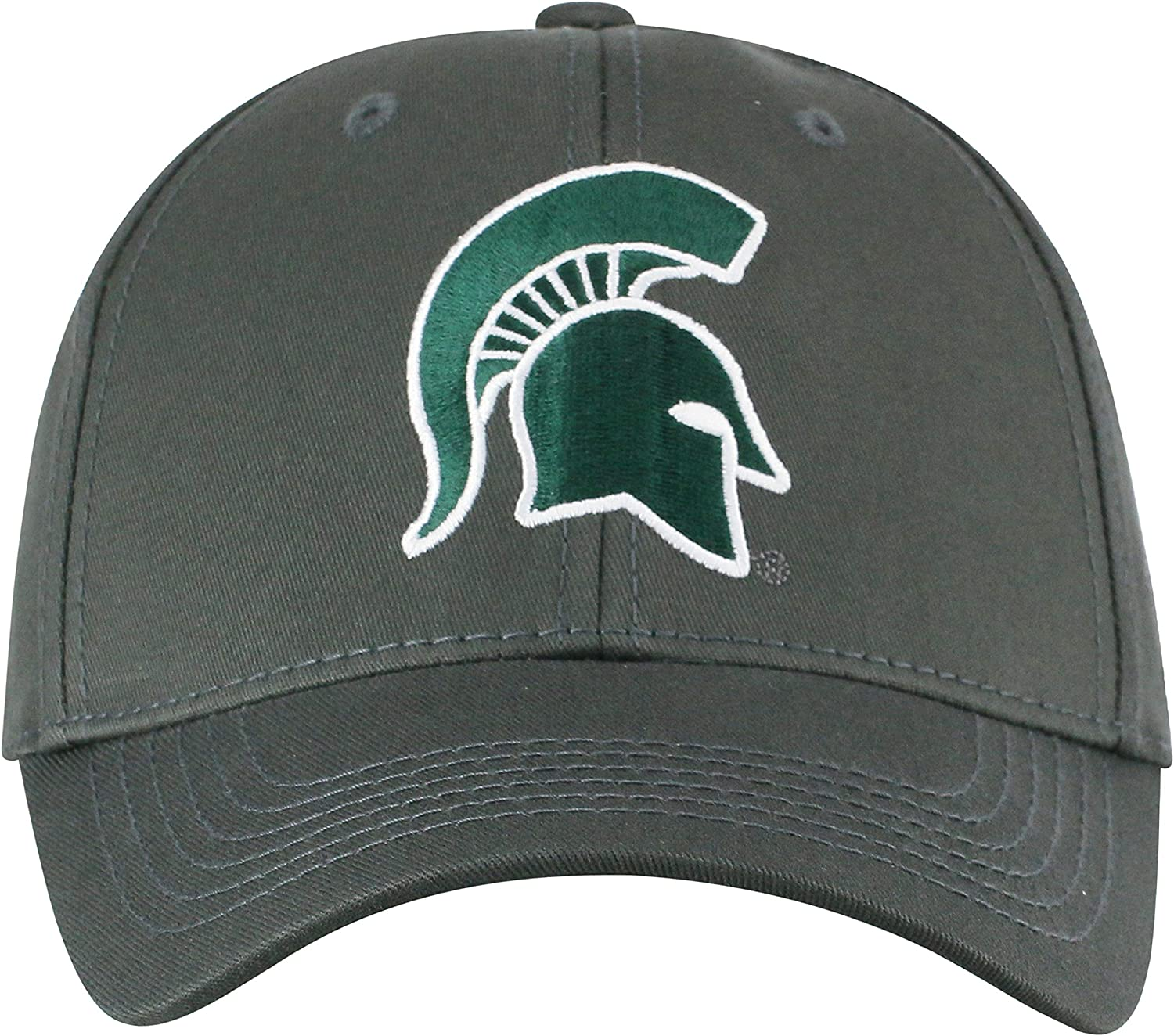 Top of the World Mens Fitted Charcoal Icon Hat