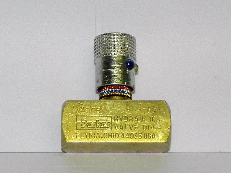 "1//4/"" NPT Female 600 Psi Brass Needle Valve NEW"