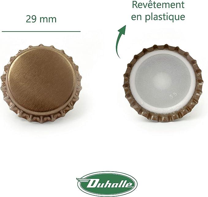 Capsule bouteille champenoise Duhallé Vendu par 200 Diamètre 29 mm