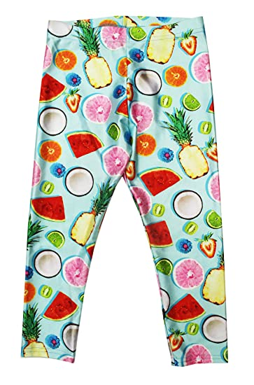 1caf61b7593b5 Amazon.com: Terez Toddler Girls Made in NYC Stretch Tropic Fruit ...