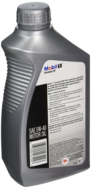 Mobil 1 Case 5w 40 Formula M Motor Oil Quart Bottle Dodge Sprinter Fuel Filters Pack Of 6 Automotive