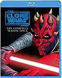 スター・ウォーズ:クローン・ウォーズ <フォース・シーズン>コンプリート・セット (3枚組) [Blu-ray]