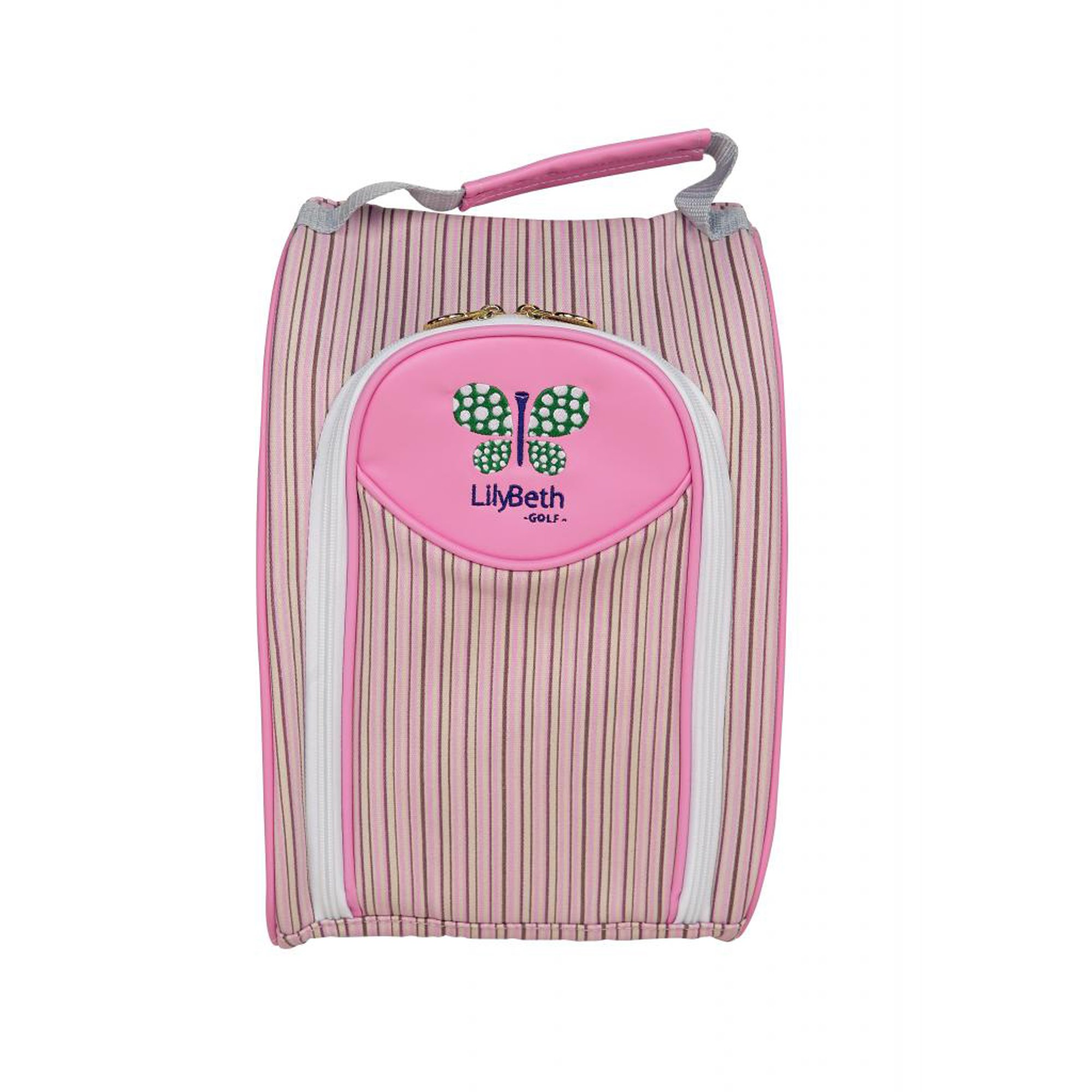 LilyBeth GOLF Shoe Bag, Neapolitan