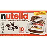 Nutella, 36 Individual Nutella Single Serve packs (Net Weight .52 ounces each)