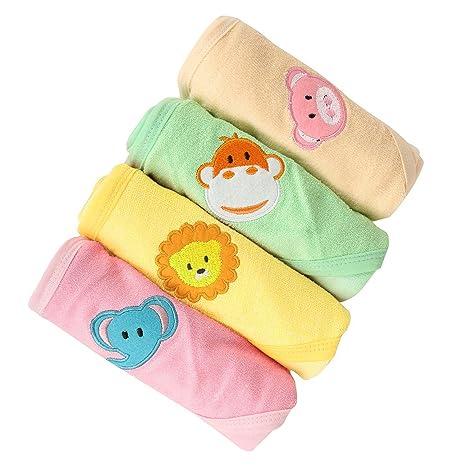 Buy Kurtzy Baby Shower Bath Hooded Cotton Wrap Towels Blanket