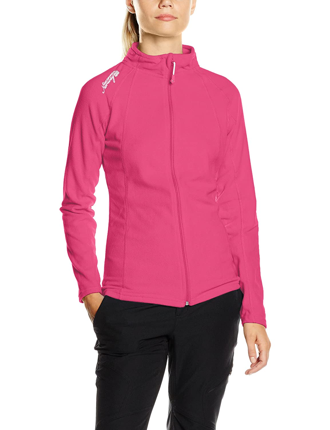 Geographical Norway WN600F/GN, Sudadera con Cremallera Para Mujer