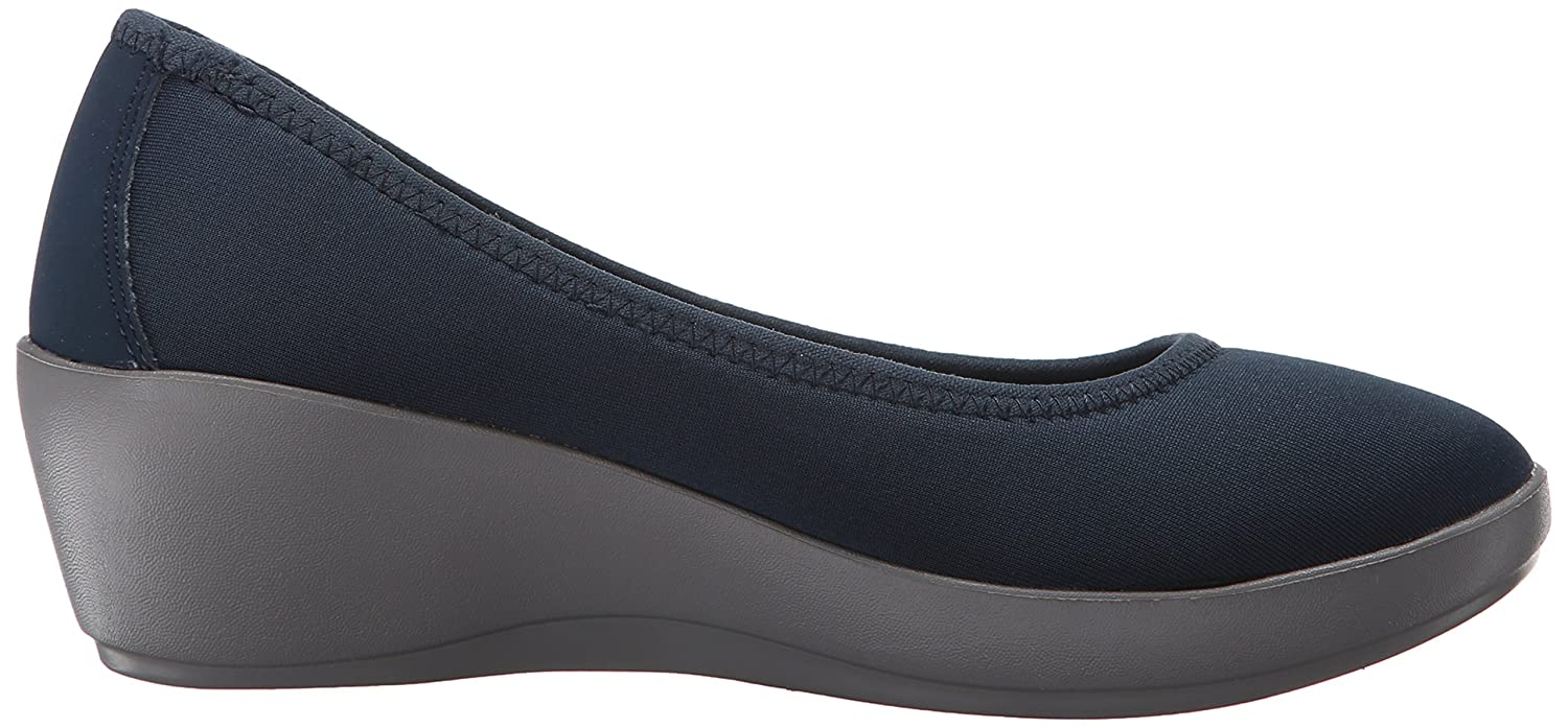 f767f0f2b ... Crocs Women s Busy Day Stretch Ballet Wedge Flat B010WEZP4E B010WEZP4E  B010WEZP4E 4.5 W US