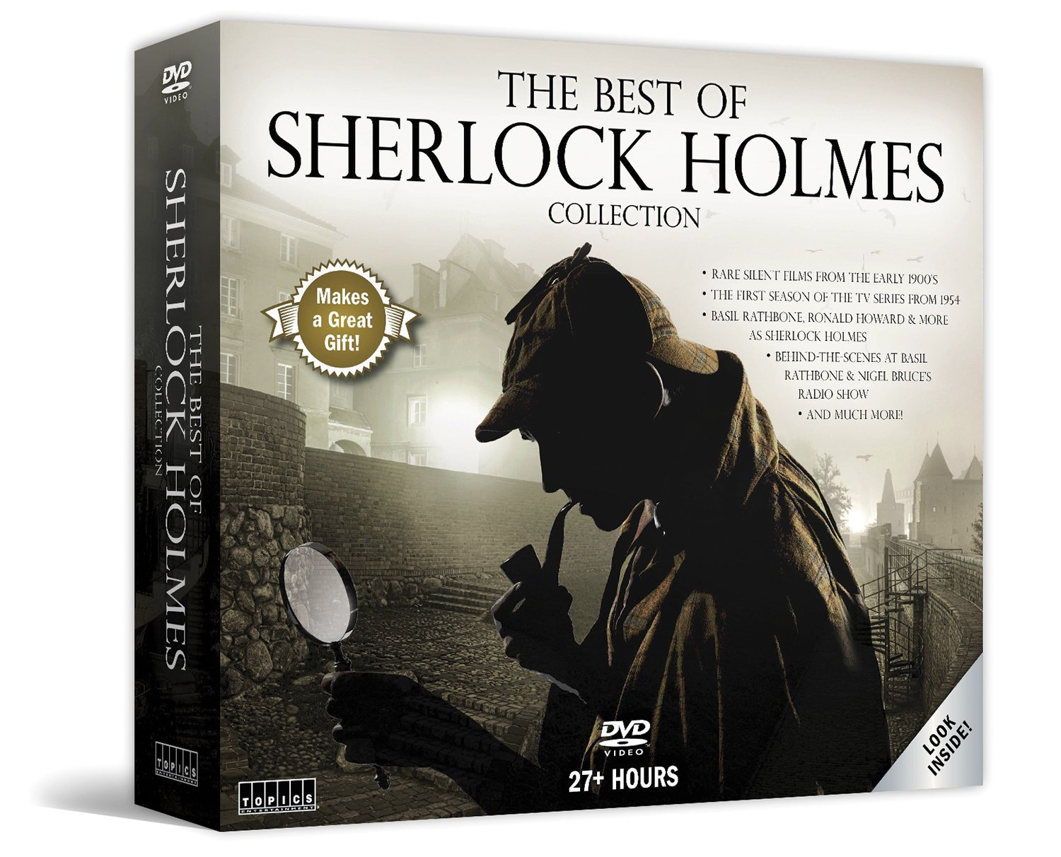 The Best of Sherlock Holmes: 12-Disc Collector's Set