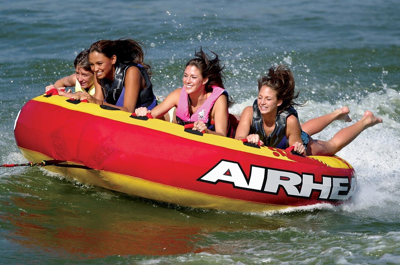 Airhead Ahssl 4 Mega Slice Towable Sports Outdoors Boat Tow Harness
