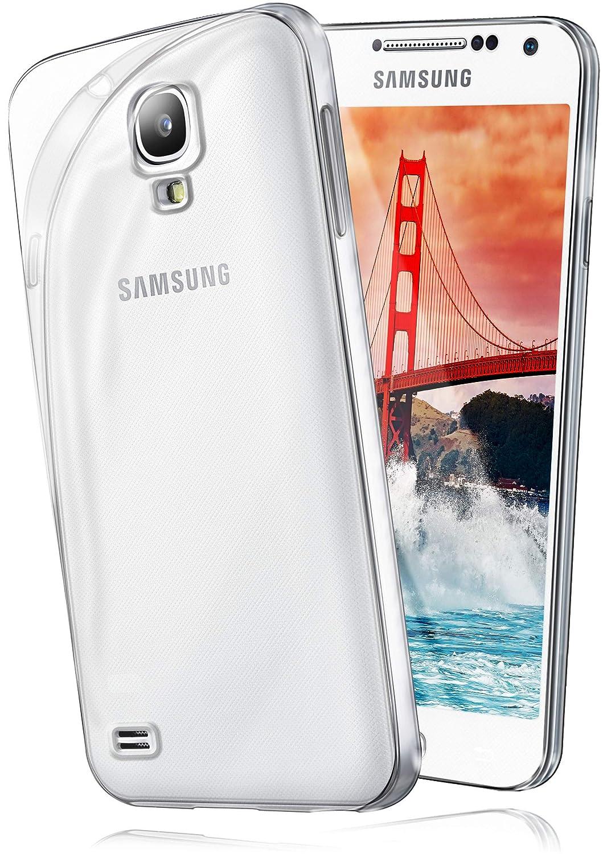 Funda Protectora OneFlow para Funda Samsung Galaxy S4 Mini Carcasa Silicona TPU 0,7 mm | Accesorios Cubierta protección móvil | Funda móvil paragolpes ...