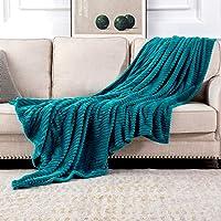 MIULEE Manta Blanket Terciopelo Grande para Sófas Mantilla de Franela para Siesta Suave Manta Corduroy para Cama Ligera…