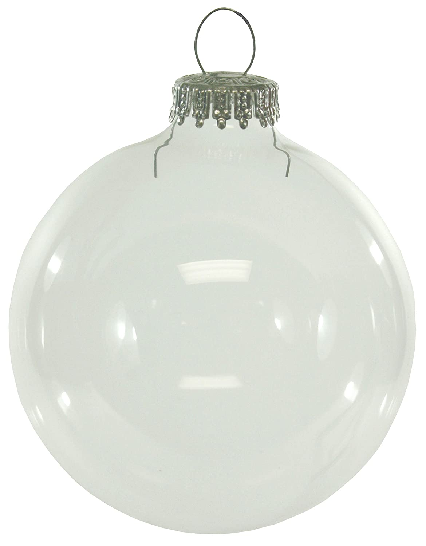 Clear glass ball ornaments - Clear Glass Ball Ornaments 1