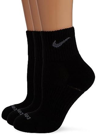 Nike Tennissocken Dri Fit Half Cushion Quarter 3er Pack