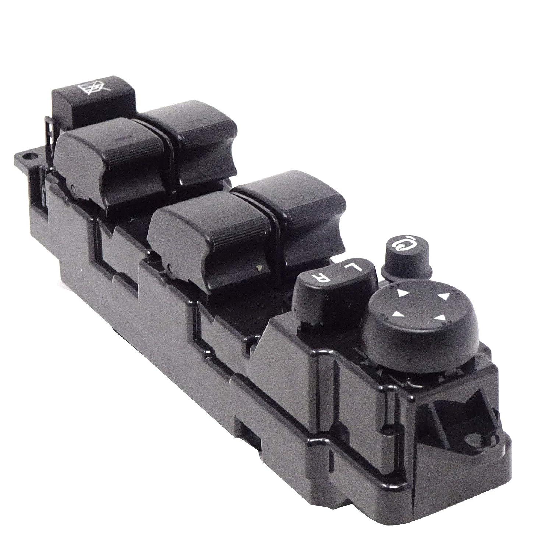 Bot/ón elevalunas Lado del Conductor Compatible con el n/úmero OEM GS1E-66350-A MZ0