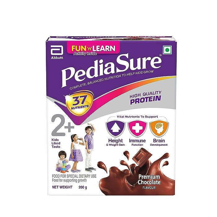 PediaSure Sure Growth Kids Nutrition Health Drink - 200g  ( Chocolate)